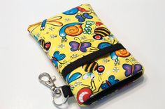 Fabric iPhone case iPhone 4 Case iphone Pouch by kreatedbykim, $19.99