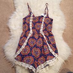 LF NWT Mika and Gala Medallion Romper❤️ LF Mika and Gala Medallion Romper. So cute! Wish I had a chance to wear it but I moved from CA to Wisconsin and I don't see myself getting any use of it. Size 6. Open to offers❤️ LF Tops Tank Tops