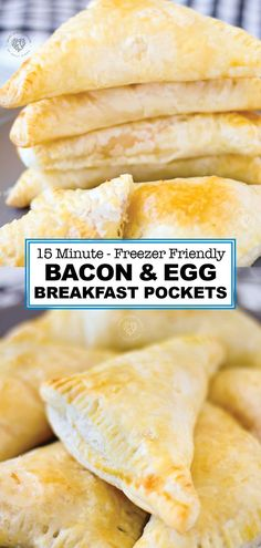 These delicious, quick breakfast pockets are so good. You have to try Puff Pastry Breakfast Pockets. They are easy to make and can be frozen for a make ahead breakfast treat. Try making these deliciou Breakfast Time, Breakfast For Kids, Breakfast Recipes, Frozen Breakfast, Breakfast Puff Pastry, Easy Egg Breakfast, Healthy Make Ahead Breakfast, Bacon Breakfast, Breakfast Ideas