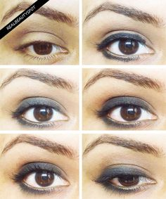 SIMPLE SMOKEY EYES TUTORIAL - ♥ Real Beauty Spot ♥