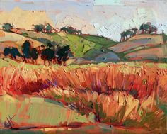 Oregon Willamette Valley original oil painting by Erin Hanson