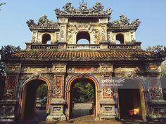 Gates to the Imperial City, Hue, Vietnam Hue Vietnam, Vietnam Tours, Vietnam Travel, Asia Travel, Vietnam War, Imperial City, Laos, Lokrum Island, Vietnam History
