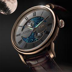 KAREBO Fluorescence; Luminous moon-star dial; automatic; 40,5mm