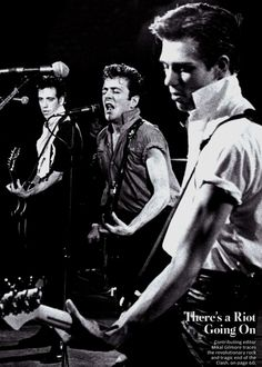 The Clash, NYC 1980.