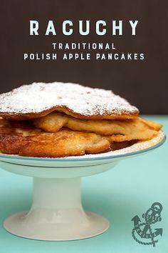 Racuchy - Traditional Polish Apple Pancakes