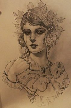 I love Emily Rose tattoos.. They are amazing. One day when I have enough money Id love something like this on my thigh!