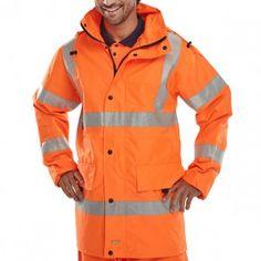 Beeswift Hi-Vis Jubilee Jacket Orange