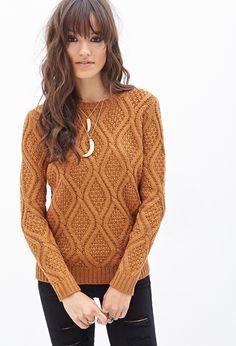Chunky Knit Sweater - Sweatshirts & Knits - 2055879135 - Forever 21 UK