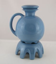 Oh how I love their blue ...Frankoma Pottery