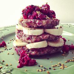 Breakfast breakfast stack....YUM