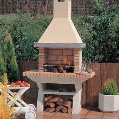 Outdoor Bbq Kitchen, Outdoor Barbeque, Backyard Barbeque, Backyard Gazebo, Backyard Pool Designs, Backyard Landscaping, Back Garden Design, Patio Design, Garden Bbq Ideas