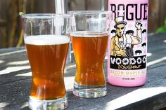 Rogue Voodoo Doughnut Bacon Maple Ale. Yes please.