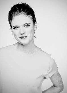 Rose Leslie by James Brickwood for Canberra Times, February 2014 [x]