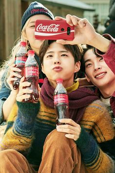 others – star media :: Park Bo Gum :: / page 6 Lee Min Ho, Park So Dam, Kdrama Actors, Bo Gum, Winter Photos, New Poster, Commercial Photography, Coca Cola, Korean Actors