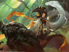 Una gran domadora de dragones