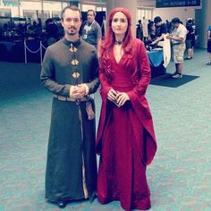 Anyone shipping Lord Baelish and Melisandre?   28 Comic-Con Couples Who Totally Nailed This Cosplay Thing