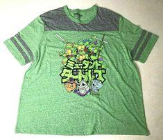 New Nickelodeon Rock Band Tour Cast Sqaud Cartoon Mens Vintage T-Shirt