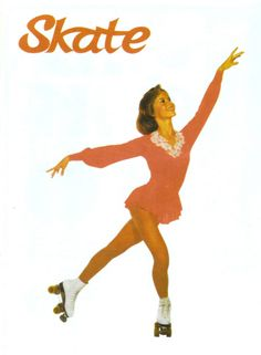 Many memories of figure skating and speed skating in my youth...skating skirts....costumes...boot covers....competitions...testing....partners........GOOD memories!