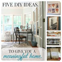 Meaningful Home DIY Ideas