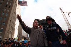 President George W. Bush Visits New York, 09/14/2001
