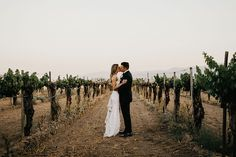 "A Wine Country ""I Do"