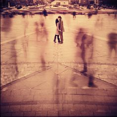 I want to stand kissing my love long enough that a picture of the entire days movement catches us in focus