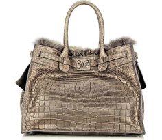 Zagliani-Crocodile-and-Fox-Fur-Gatsby-Bag
