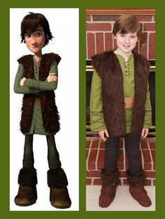 How to make a Hiccup costume - How to Train Your Dragon