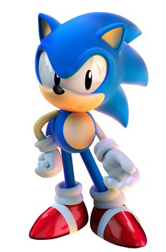 Sonic the Hedgehog - Classic Sonic - with a Sonic Unleashed pose