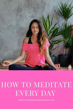 How to meditate every day #meditation #yoga morning meditation routine, morning meditation for beginners tips, how to meditate in the morning, morning meditation for anxiety, meditation habit, meditation for beginners stress, how to meditate daily Mindfullness Meditation, Meditation Scripts, Meditation For Anxiety, Types Of Meditation, Power Of Meditation, Meditation Retreat, Morning Meditation, Meditation Cushion, Meditation Benefits
