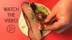 Try an authentic Tex-Mex recipe this Cinco de Mayo: brisket tacos from  Garcia's Mexican Food in San Antonio. Get the recipe here.