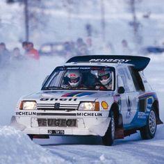 Juha Kankkunen on Peugeot 208 WRC