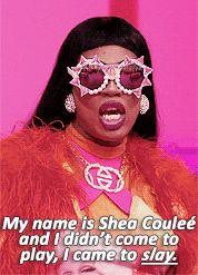 Shea Couleé entrance