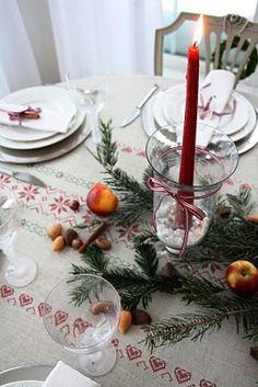 christmas table inspirations