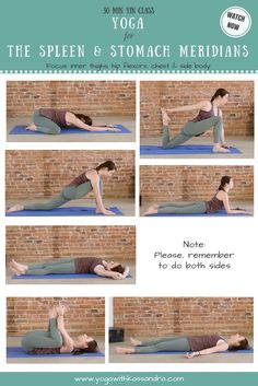 Learn the best yin yoga poses for the spleen and stomach meridians focusing on the inner thighs, hip flexors, chest and side body.