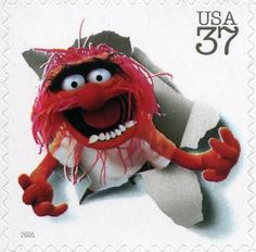 Stamp: Animal (United States of America) (Jim Henson & the Muppets) Mi:US…