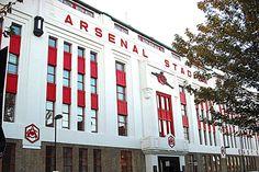 Old Highbury Stadium of Arsenal football club.