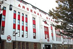 Old Highbury Stadium of Arsenal football club.