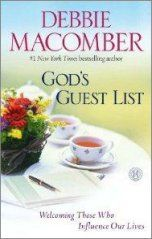 "GOD'S GUEST LIST: Who is on God's ""guest list"" for your life...and why?  The answers may surprise you.  Through touching true stories and inspiring insight Debbie Macomber takes readers on a journey to discover the shaping influence others have on us and the power we have to shape and influence those whose paths cross ours.   #debbiemacomber #godsguestlist"