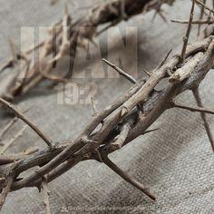 """""""Y los soldados tejieron una corona de espinas, la pusieron sobre Su cabeza"""""""