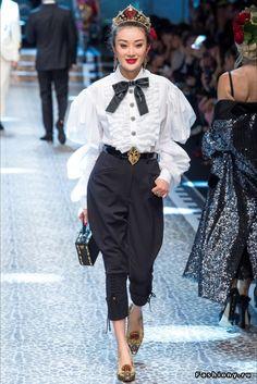 Dolce & Gabbana Осень-Зима 2017-2018 (Часть 2)