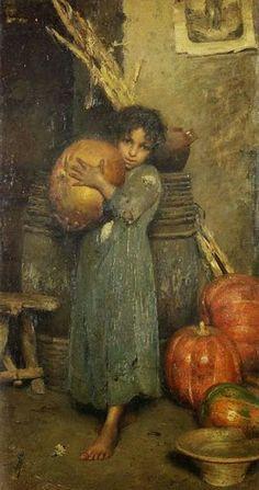 Robert Siara - DecoArt24.pl - Vincenzo Caprile (Italian, 1856-1936) paintings
