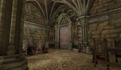 Hey guys, Here are some early shots of a castle interior module set im working on. Let me know what you think! -Buddikaman