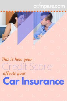 Your credit score affects your car insurance price! Find out how here. Improve Your Credit Score, Car Insurance, Scores, Improve Yourself