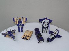 Transformers G1 Blitzwing and Astrotrain