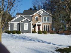 Brick, Exterior, Cabin, House Styles, Ideas, Home Decor, Decoration Home, Room Decor, Bricks