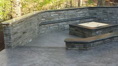 Stamped Concrete Patio Designs By Jeffrey Curtis With T U0026 H Foundations. St  Louis Mo