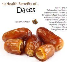 10 Health Benefits of Dates #farmersmarket #healthy http://farmersmarketdelivered.com/