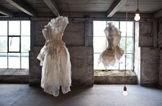 Paper Clothing by Violise Lunn. |