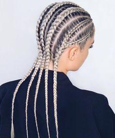 27 Cornrows Braided Hair Can braids grow your hair? Braided Hair Styles # cornrows Braids white Cornrows Braided Hair Can braids grow your hair? Cornrows Braids White, White Girl Cornrows, Cornrow Hairstyles White, White Girl Braids, Box Braids Hairstyles, Girl Hairstyles, Long Cornrows, Wedding Hairstyles, Side Braids